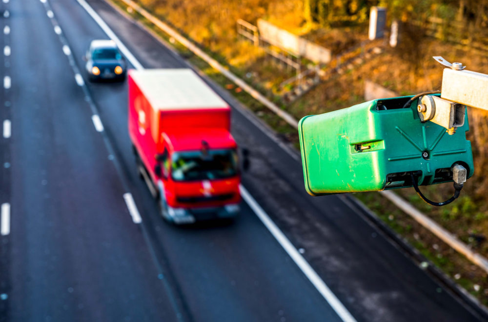 Toll ANPR truck car 2