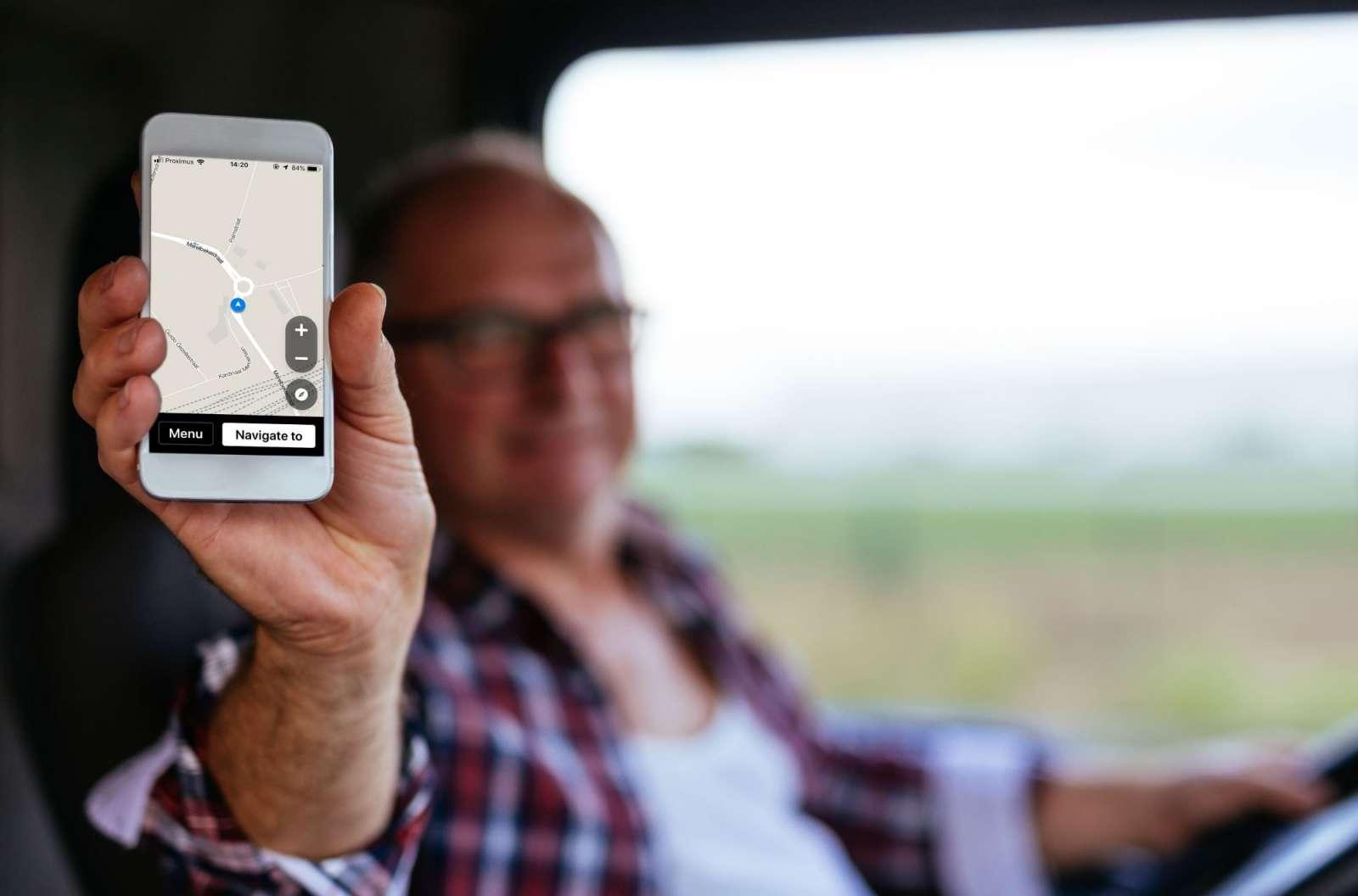 Logistics platform driver app