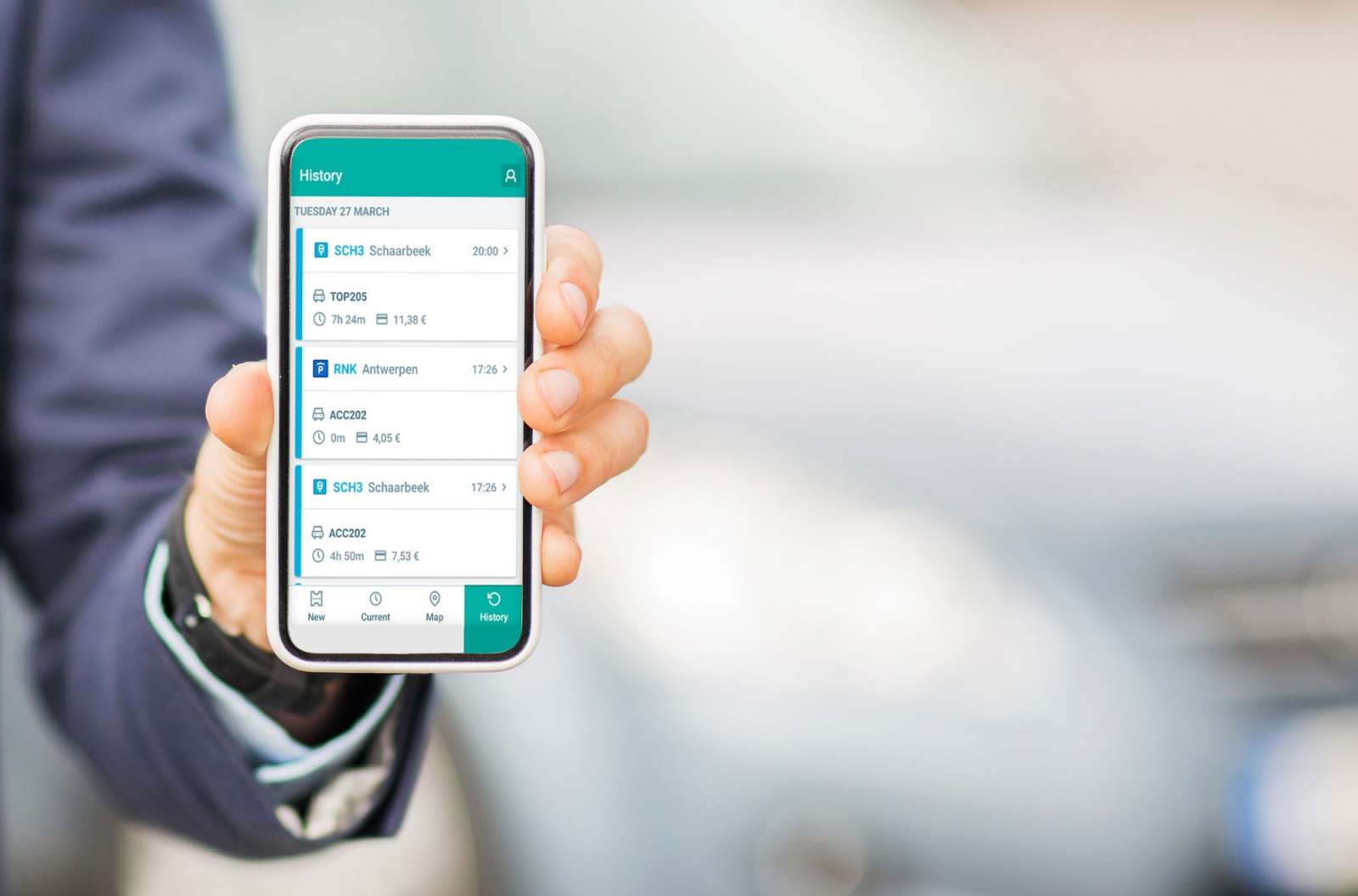 Mobility payments company app