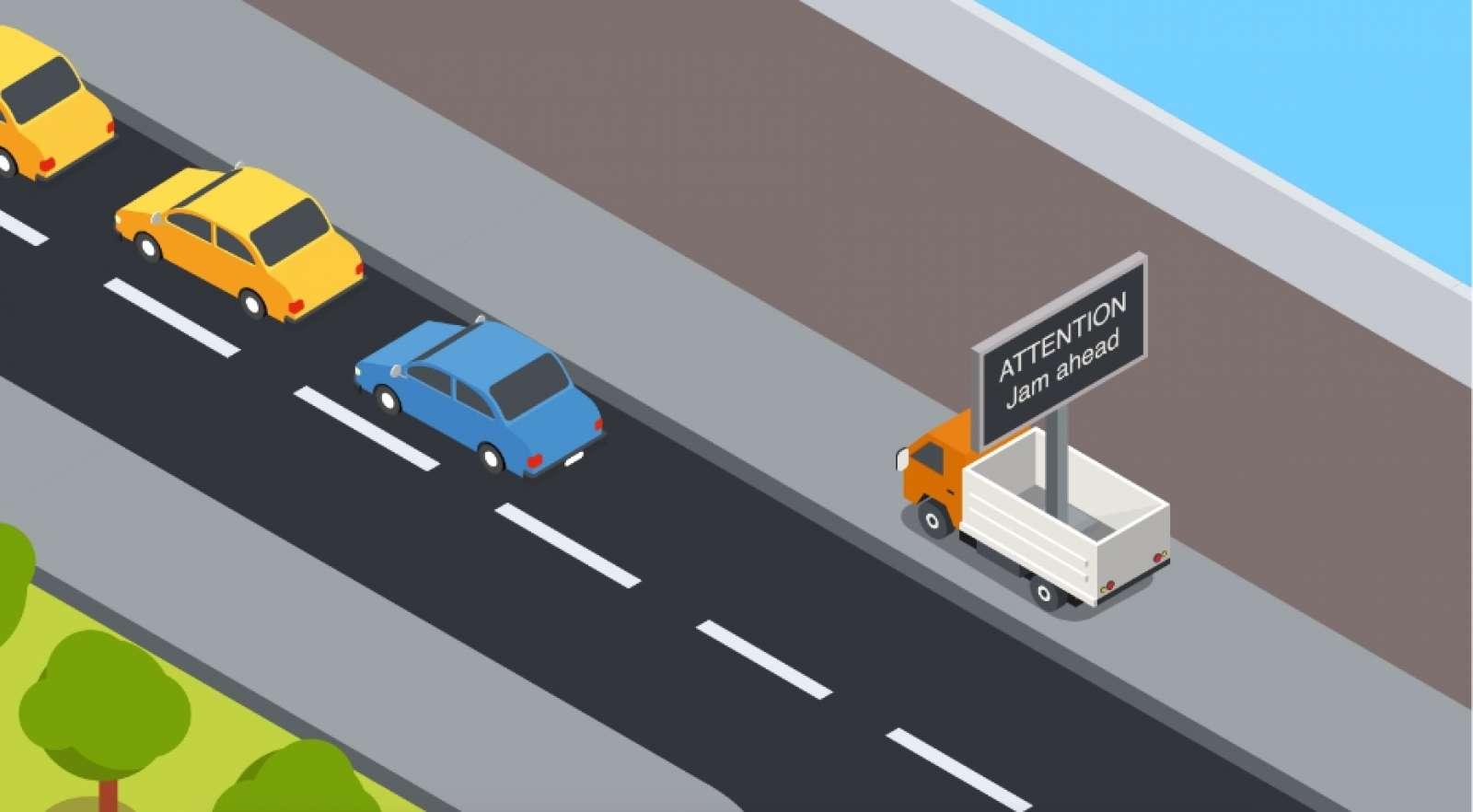 Traffic parking guidance 1