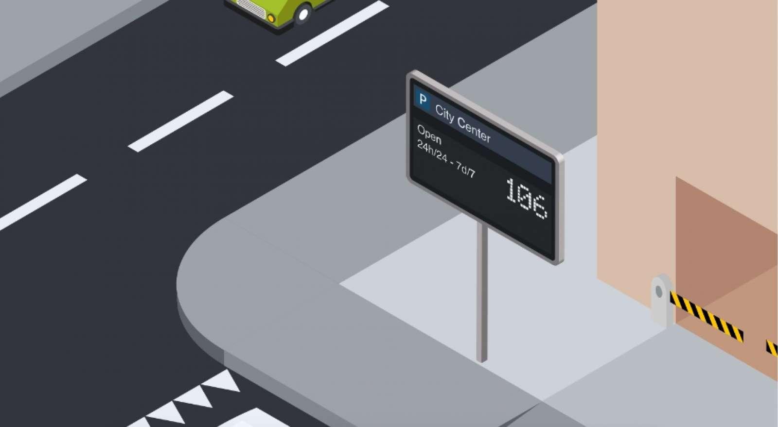 Traffic parking guidance 2